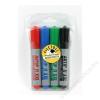 ICO Flipchart marker készlet, 1-3 mm, kúpos, ICO Artip 11 XXL, 4 különböző szín (TICA11XV4)