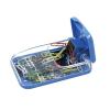 ICO Gemkapocstartó, mágneses, ICO, átlátszó-kék