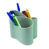 ICO Írószertartó ico lux szürke műanyag