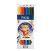 """ICO Színes ceruza készlet, hatszögletű,  """"Creative Kids"""", 12 különböző szín"""