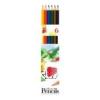 """ICO Színes ceruza készlet, hatszögletű, ICO \""""Süni\"""", 6 különböző szín [6 db]"""