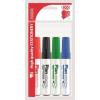 """ICO Tábla- és flipchart marker készlet, 1-3 mm, kúpos, ICO """"Plan"""", 4 különböző szín"""