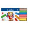 """ICO Táblakréta, ICO """"Creative Kids"""", 6 különböző szín"""