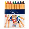 """ICO Zsírkréta,  """"Creative Kids"""", 12 különböző szín"""