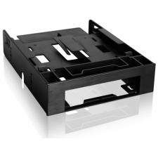 """ICYDOCK MB343SP Dual 2.5"""" HDD/SSD & One 3.5"""" HDD/Device Front Bay to External 5.25"""" Bay Converter/ Mounting Kit asztali számítógép kellék"""