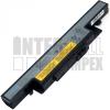 IdeaPad Y490P Series 4400 mAh 6 cella fekete notebook/laptop akku/akkumulátor utángyártott