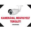 IdentiVision GCA-FMA4/F, kamerás figyelmeztető MATRICA, A4, fekvő