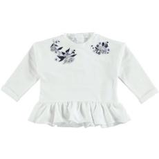 iDo iDO kislány pulóver - Virág mintával