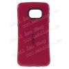 Iface mûanyag védõ tok / hátlap - szilikon betétes - MAGENTA - SAMSUNG SM-G928 Galaxy S6. Edge +
