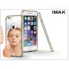 IMAK Apple iPhone 6/6S fém tükrös hátlap és keret - IMAK Mirror Zine - szürke