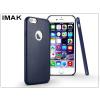 IMAK Apple iPhone 6 Plus/6S Plus hátlap - IMAK Ultra-Thin Leather - kék