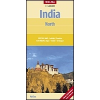 India (északi rész) térkép - Nelles