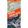 Indiai Himalaya turistatérkép - Terra Quest