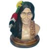 Indián-fej talapzaton