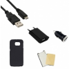Indulócsomag EXTRA, Samsung Galaxy S6 SM-G920, fekete szilikon tokkal