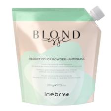 Inebrya Blondesse Reduct Color Antibrass szőkítőpor, 500 g hajfesték, színező