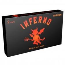 Inferno potencianövelő kapszula - 2db potencianövelő