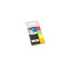 Info Notes Oldaljelölő cimke papír 20x50 mm 4színű neon 4x50 lapos INFO NOTES