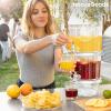 InnovaGoods Dupla ital adagoló jégrekeszekkel és snack tálcával TwinTap InnovaGoods