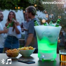InnovaGoods LED vödör újratölthető hangszóróval Sonice InnovaGoods hangszóró