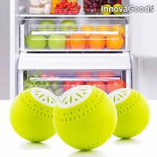 InnovaGoods Ökolabdák Hűtőszekrénybe (3 darab) konyhai eszköz