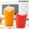 InnovaGoods Összecsukható szilikon pattogatott kukorica poppers Popbox InnovaGoods (2 Darab)