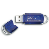Integral Courier 8GB USB 3.0 AES-256 kék pendrive