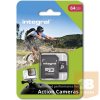 Integral micro SDHC/SDXC for Action Camera Card (tested with GoPro); 64GB