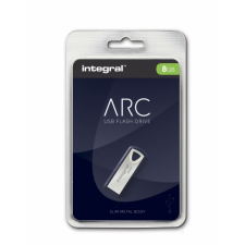 Integral USB 8GB ARC, slim metal (INFD8GBARC) pendrive