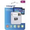 INTEGRALMEMORY Smartphone and Tablet Memory 128GB MicroSDXC 80 MB/s INMSDX128G10-SPTOTGR