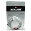 Intellinet Network Cable RJ45, Cat6 UTP, 5m White, 100% copper