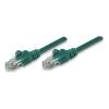 Intellinet UTP patch kábel, Cat5e, 0,5 m, INTELLINET, zöld