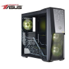 Intensa INTEL Gaming Elite Powered By ASUS asztali számítógép, Intel Core i7-8700 3,20GHz, 16GB DDR4, 2TB + 480 SSD, nVidia DUAL-RTX2080-8G, 700W, Wi-Fi adapter