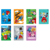 Interdruk Iskolai füzet -vegyes mintákkal-A5 32 lap Angry Birds Rio kockás <10db