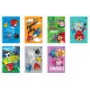 Interdruk Iskolai füzet -vegyes mintákkal-A5 32 lap Angry Birds Rio vonalas <10d