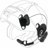 InterPhone PRO SOUND Shoei bukósisak headset (01320216)