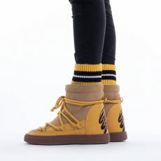 Inuikii Sneaker Wedge Sock 70203-113 YELLOW