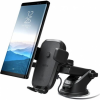 Iottie Easy One Touch 4 tartó Qi vezeték nélküli töltővel - fekete