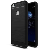 IPAKY Slim Carbon flexible Huawei P10 Lite hátlap, tok, fekete