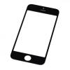 iPhone 5 előlapi üveg (alkatrész, nem védőüveg) fekete