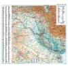 Irak domborzati falitérkép - GiziMap