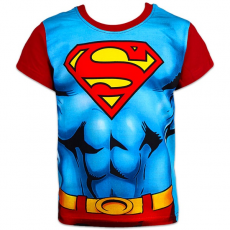 ismeretlen Superman: rövid ujjú póló - 104 méret, kék