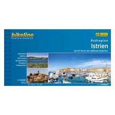 Isztria kerékpáratlasz / Radatlas Istrien térkép