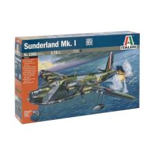 Italeri Sunderland Mk.I katonai repülő makett Italeri 1302 makett figura