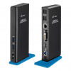 iTec i-tec USB 3.0 Dual Docking Station HDMI DVI Full HD + USB Charging Port