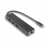 iTec i-tec USB C Slim 3-port HUB Gigabit Ethernet USB 3.0 to RJ-45 3x USB 3.0