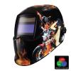 Iweld NORED EYE 3 Automata hegesztő fejpajzs (tűz-motor) True Color