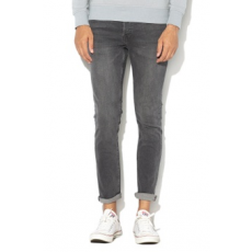 Jack Jones Jack&Jones, Glenn slim fit farmernadrág, Sötétszürke, W33-L32 (12141630-GREY-DENIM-W33-L32)