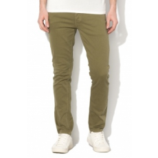 Jack Jones Jack&Jones, Glenn slim fit nadrág, Kheki, W28-L32 (12134830-OLIVE-NIGHT-W28-L32)