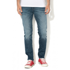 Jack Jones Jack&Jones, Indigo slim fit farmernadrág, kék, W31-L34 (12137663-BLUE-DENIM-W31-L34)